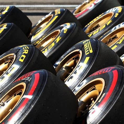 Ultrasoft, supersoft and soft tyres for Singapore