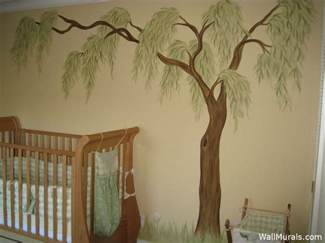 Tree Wall Murals - Hand-painted Trees on Walls   Wall