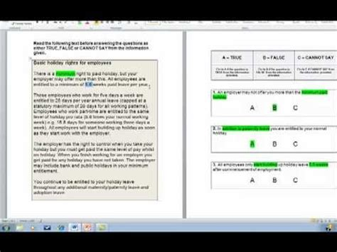 How To Answer Verbal Reasoning Tests - YouTube