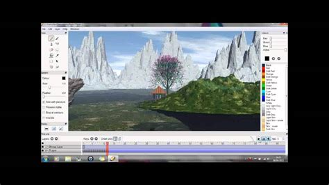 Pencil animation quick demo - free 2d animation software