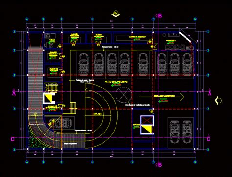 Parking in AutoCAD   Download CAD free (137