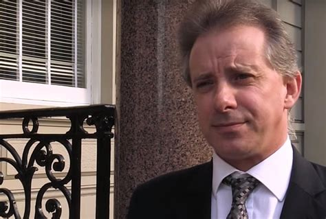 Christopher Steele, author of the Trump dossier, breaks