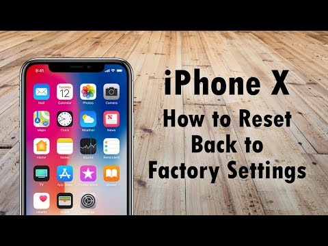 iPhone 5s - How to Reset Back to Factory Settings - YouTube