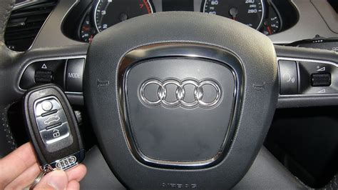 How to start an Audi A4 2009 (and others) with ignition