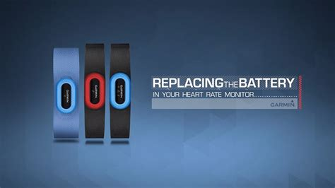 Garmin: Replacing the Battery in your Heart Rate Monitor