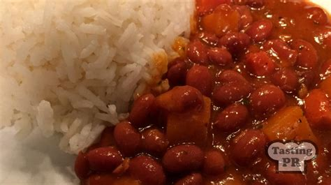 Puerto Rican Rice and Beans - Tasting Puerto Rico