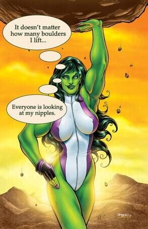 She-Hulk Has Body Issues from Self-Loathing Marvel Characters