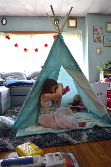 The Easiest Kids Play Tent Ever   Cuddles & Chaos