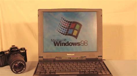 Old Windows 98 Laptop Review! W