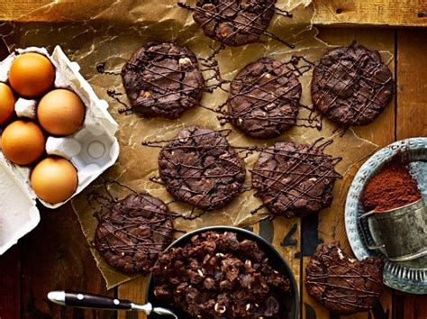 Triple chocolate chip cookies -Roy Fares   Chocolate chip