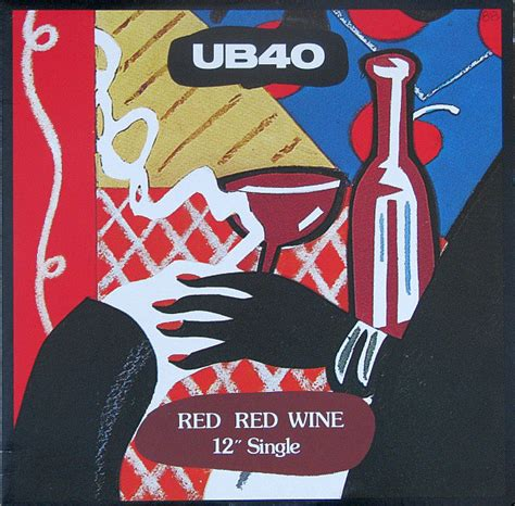 """UB40 - Red Red Wine (Vinyl, 12"""", 45 RPM, Limited Edition"""