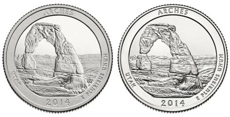 2014 Arches Quarters Three-Coin Set Available   Coin News