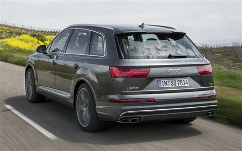 2016 Audi SQ7 - Wallpapers and HD Images | Car Pixel