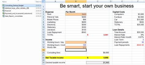Exercise Files included in Microsoft Excel Beginners to