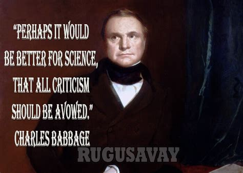 CHARLES BABBAGE QUOTES image quotes at relatably