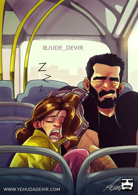 Artist Shares His Everyday Life With Wife Using Comic