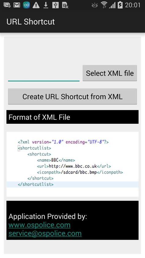 URL shortcut creator for Android - Free download and
