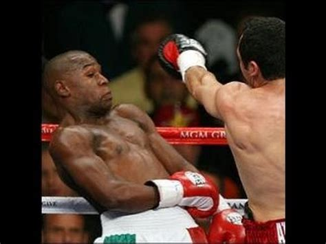 Myth of how to beat MAYWEATHER DEFENSE, shoulder roll