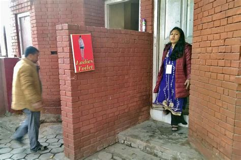 Women complain of lack of toilets with proper facilities