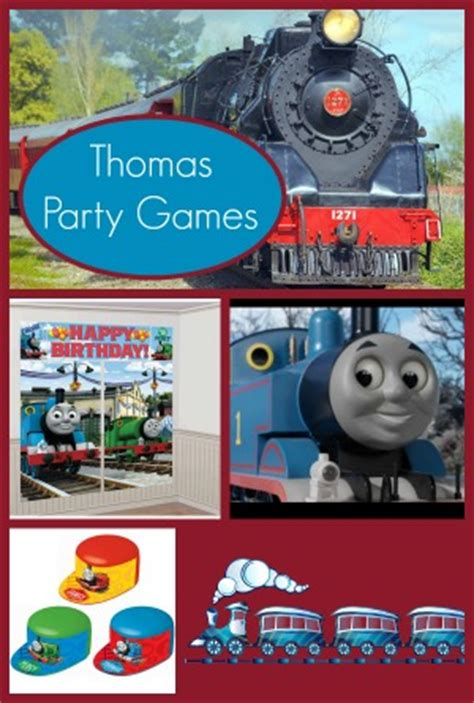 Thomas the Train Party Games for Kids- My Kids Guide