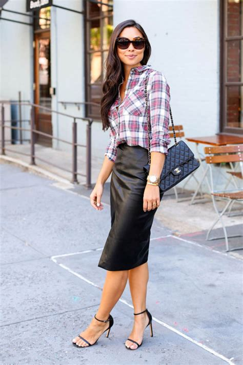 Work Office Outfit Ideas: How to Style a Pencil Skirt