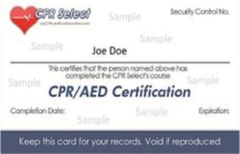 Online CPR AED Certification Classes | $19