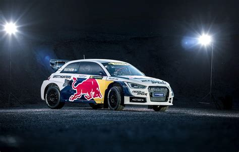 Audi S1 Ready to Rallycross in Red Bull Livery - autoevolution