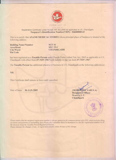 Certificates - Anand Medicos