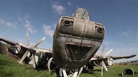 Abandoned Aircraft Graveyard in the UK | Doovi