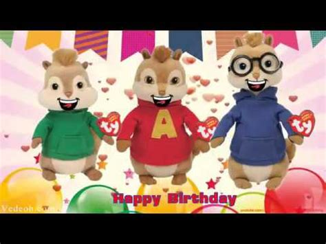 Happy Birthday Song Alvin and The Chipmunks Nursery Rhymes
