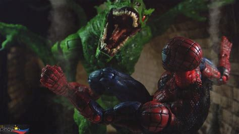 Marvel MTV Spider-Man: Lizard Toy Review - YouTube