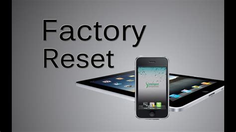 How To Factory Reset, Master Reset, The iPhone, iPad, iPod