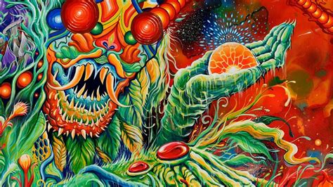Once More 'Round the Sun | Mastodon [3200x1800] : wallpapers