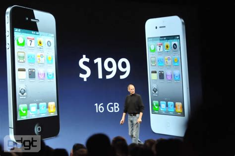 iPhone 4 Announced - Features, Pictures, Price, Release
