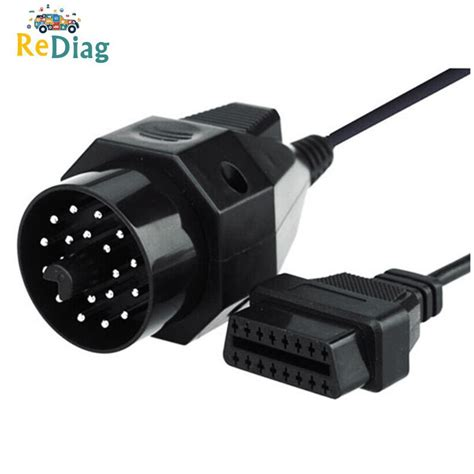 OBD II Adapter For BMW 20 Pin To OBD2 16 PIN Connector E36