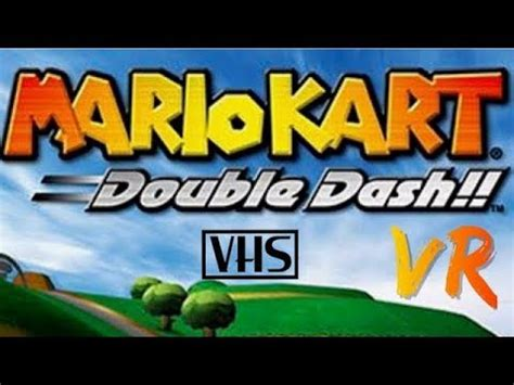 Let's play Mario kart double dash VR with a steering wheel