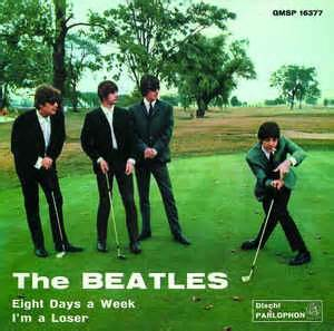 The Beatles - Eight Days A Week / I'm A Loser (1964, NO