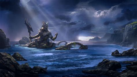God of War Ascension Poseidon Wallpapers   HD Wallpapers