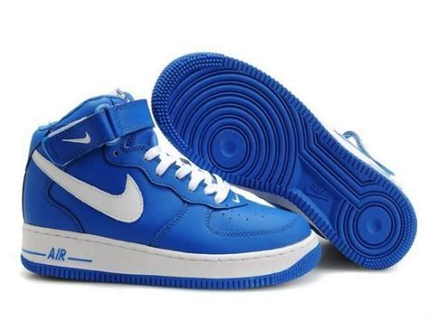 Nike Air Force 1 Mid Blauw Wit Sneakers Heren,Stylish