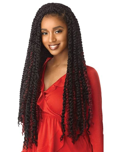 Outre X-pression Twisted-up Crochet Braid - Passion