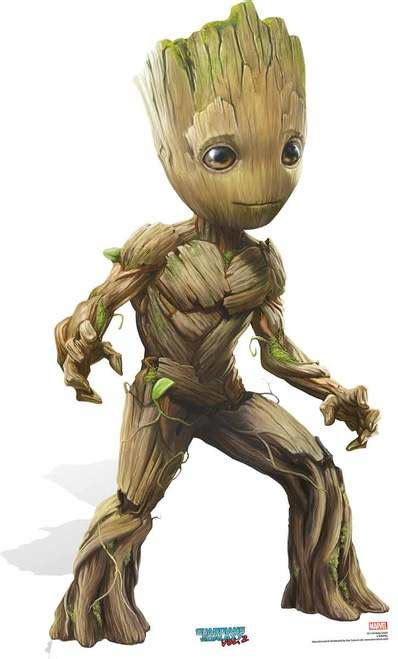 Baby Groot Cute Pose Guardians of The Galaxy Vol