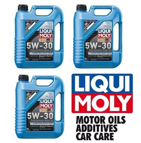 15-Liters Liqui Moly 5W-30 Low Friction; Long Life Fully