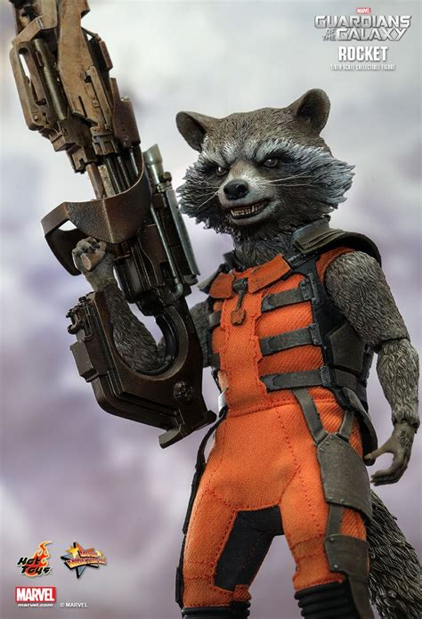 Hot Toys Rocket Raccoon Figures Photos & Up for Order