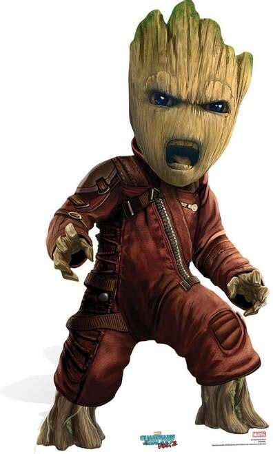 Baby Groot Guardians of The Galaxy Vol 2 Cardboard Cutout