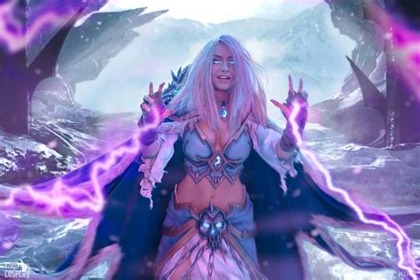 Frost Lich Jaina Cosplay Sponsored by Blizzard | Cosplay