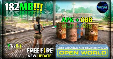 [180MB] FREE FIRE Highly Compressed (APK+OBB) For Android