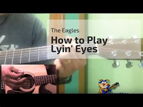 How to Play Lying Eyes by the Eagles on Guitar - Easy Song