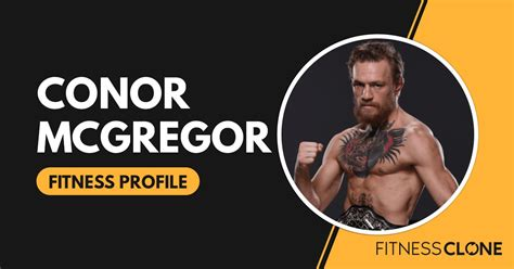Conor McGregor's Workout, Diet Plan, Supplements, and More